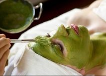 Mascarilla de té verde y avena