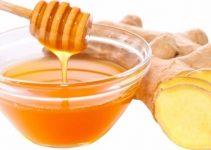 mascarilla de jengibre y miel