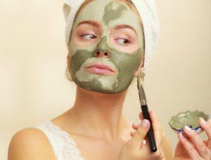 Mascarilla de espirulina para el acné