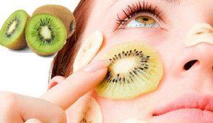 Mascarilla de kiwi para el acné