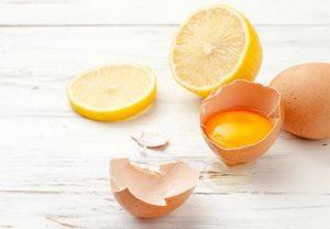 mascarilla de limon y huevo