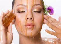 Mascarilla de miel para el rostro