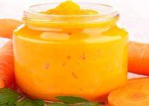 mascarilla de zanahoria y maizena