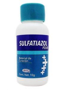 Sulfatiazol Para Qué Sirve